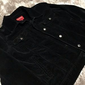 Black Chaps Corduroy Jacket